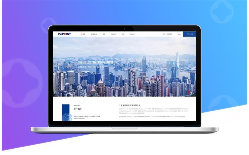 保银投资品牌官网建设